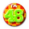 Afbeelding van Button 48 jaar