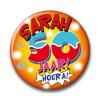 Afbeelding van Button Sarah jaar