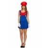 Afbeelding van Mario kostuum dames