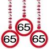 Afbeelding van Hangdecoratie Verkeersbord 65/3st