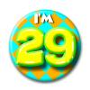 Afbeelding van Button 29 jaar
