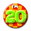Afbeelding van Button 20 jaar