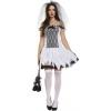 Afbeelding van Dode bruid Halloween jurkje