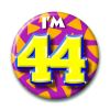 Afbeelding van Button 44 jaar
