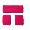 Afbeelding van Neon zweetband hoofd en pols roze