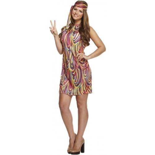 2967af51ae5bfd Hippie jurkje kopen  - Confettifeest.nl
