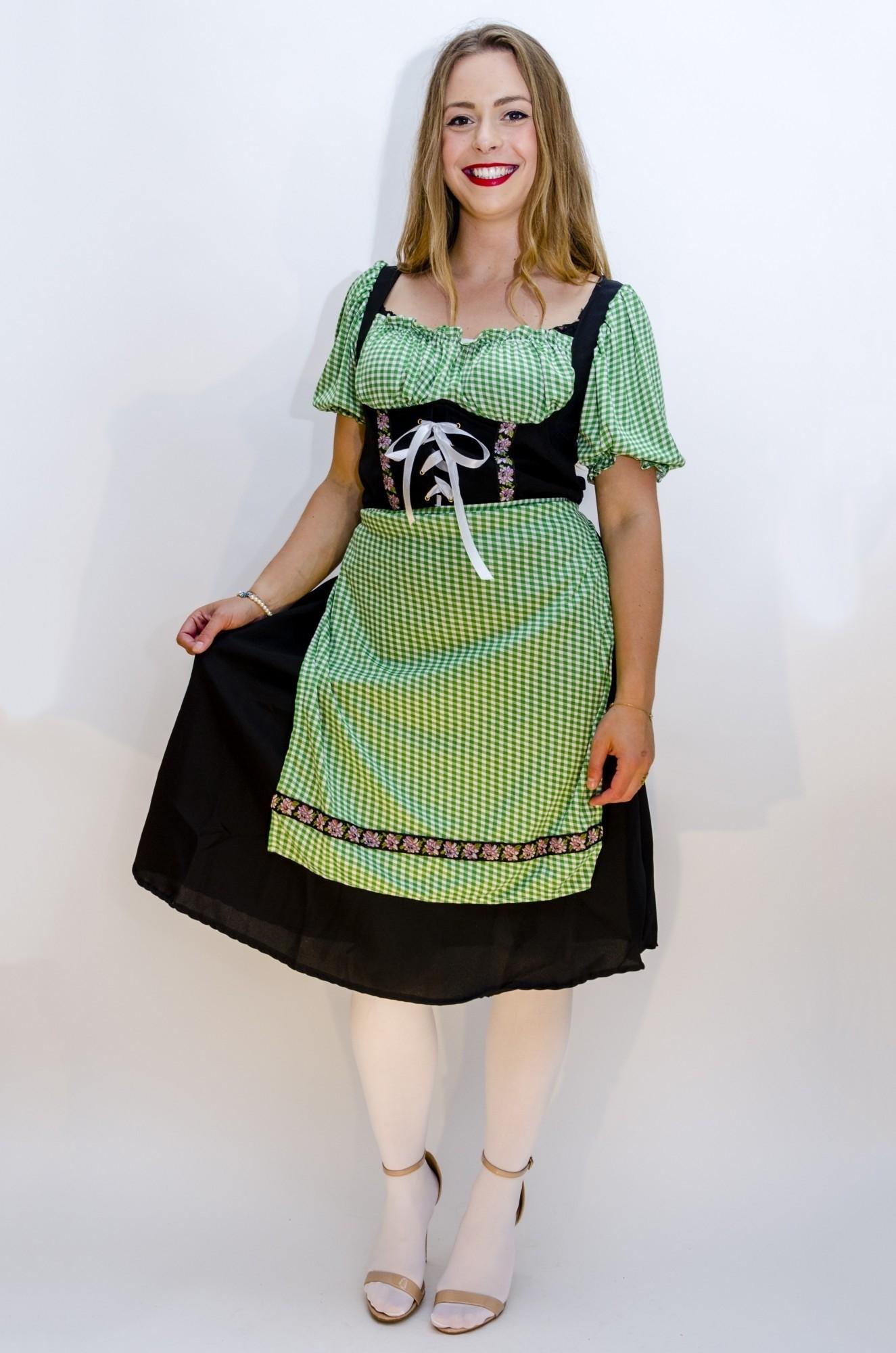 b52e5f9e8f55d8 Tiroler jurk Angela - Confettifeest.nl