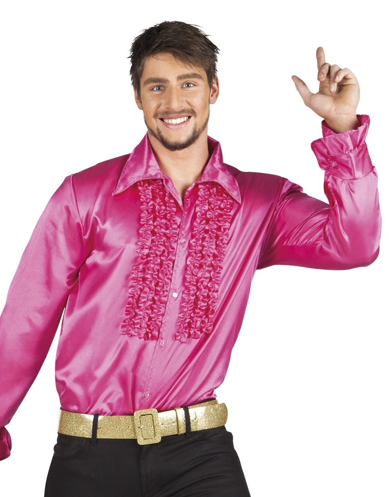 e47393a17989f5 Disco blouse roze kopen  – Confettifeest.nl