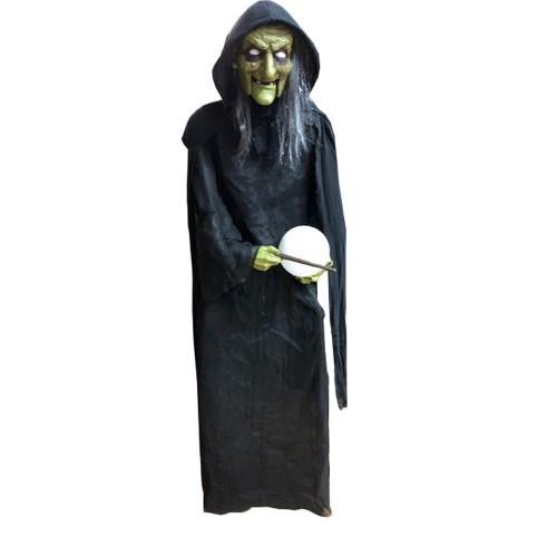 Halloween Decoratie Bestellen.Halloween Decoratie Heks Xxl 180cm