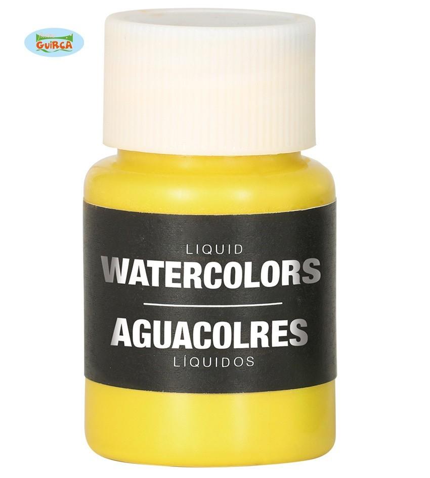 Body Paint Op Waterbasis Geel