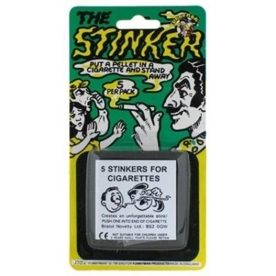 Foto van sigaretten stinker