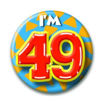 Foto van Button 49 jaar