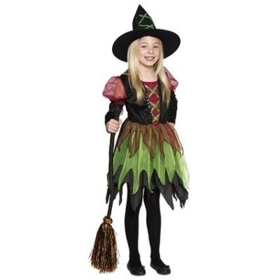 Foto van Feeën heks kostuum kind
