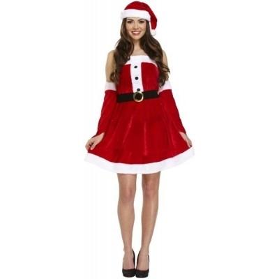 Foto van Sexy kerstjurkje fluweel