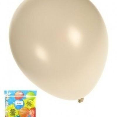 Foto van Kwaliteitsballon metallic wit per 50 (Ø 14 inch / 36 cm)