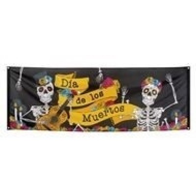 Foto van Banner Day of The Dead
