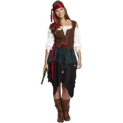Foto van Piraten vrouw volwassen maat