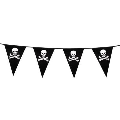 Foto van Piraat vlaggenlijn
