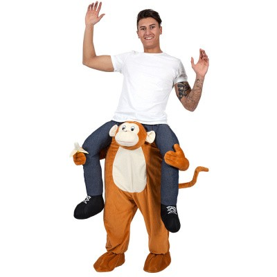 Foto van Carry me kostuum monkey