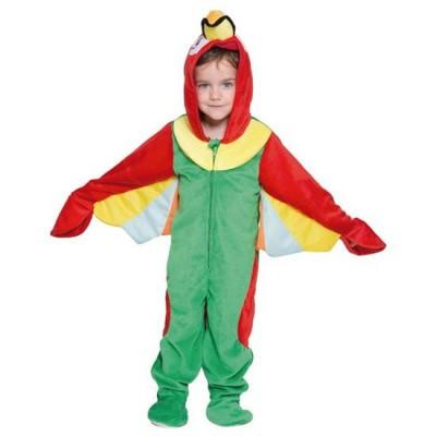 Papegaai kostuum peuter