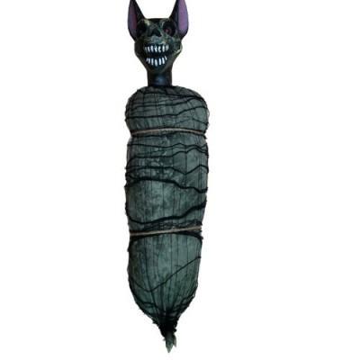 Foto van Halloween decoratie hangende vleermuis
