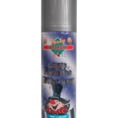 Foto van Hairspray glitterzilver 125 ml