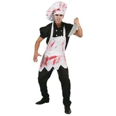 Foto van Halloween chefkok kostuum