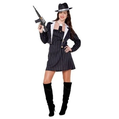 Foto van Gangster kostuum dames