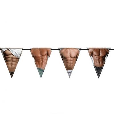 Vlaggenlijn torso sexy 10m