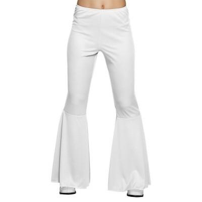 Foto van Witte disco broek dames