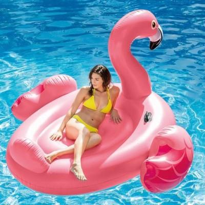 Foto van Opblaas flamingo XXL