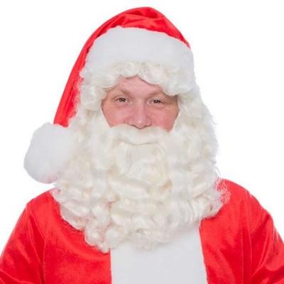 Foto van Kerstman baard kanekalon
