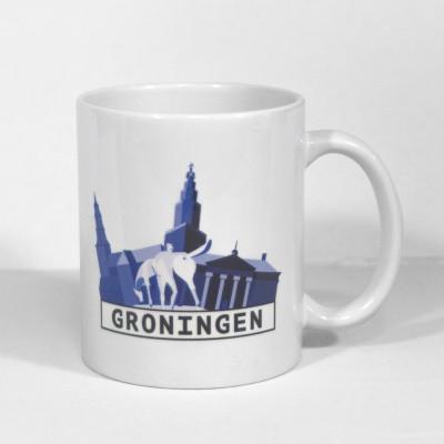 Foto van Groningen mok