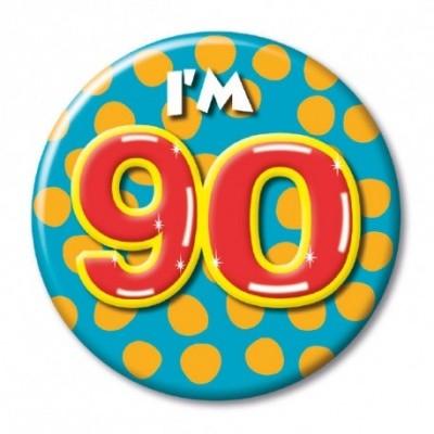 Foto van Button 90 jaar