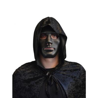 Foto van Zwart masker hard plastic