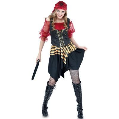 Foto van Piraten jurkje - rood