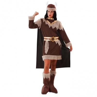 Foto van Viking kostuum dames