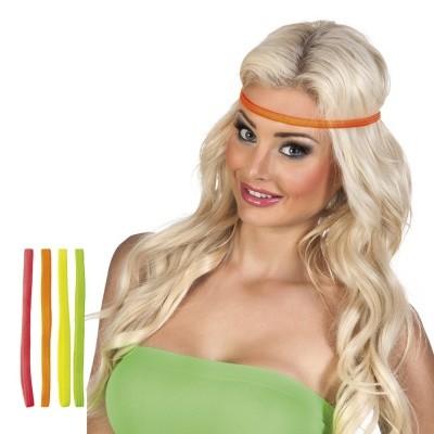 Neon hoofd zweetbanden