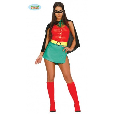 Foto van Robin kostuum dames (batman)