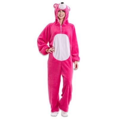 Foto van Fortnite kostuum - Cuddle Team leader (roze beer)