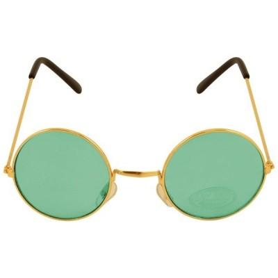 Foto van Hippie bril groen