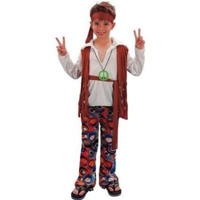 Foto van Hippie jongen outfit
