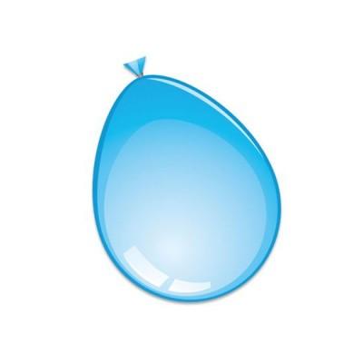 Foto van Ballonnen licht blauw 50 stuks