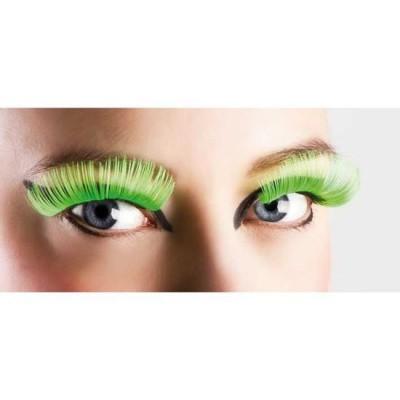 Foto van Neon wimpers groen XL