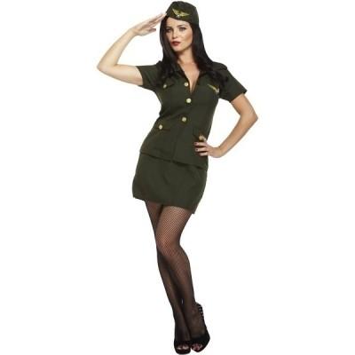 Foto van Stewardess kostuum - Leger
