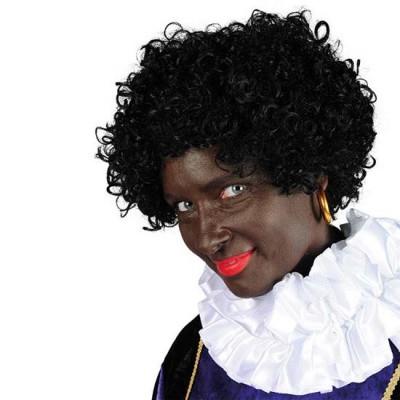 Foto van Pietenpruik Black Jack kanekalon
