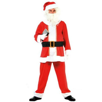 Foto van Kerstman kostuum compleet