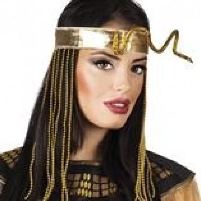 Foto van Egyptische hoofdband met slang