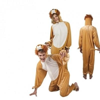Onesie Leeuw volwassenen