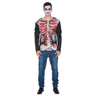 Foto van Skelet shirt - zombie